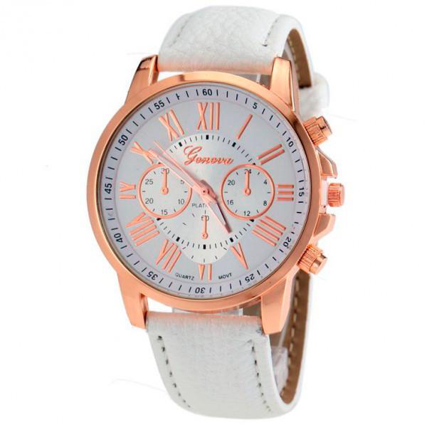 Женские часы Geneva 1361 White
