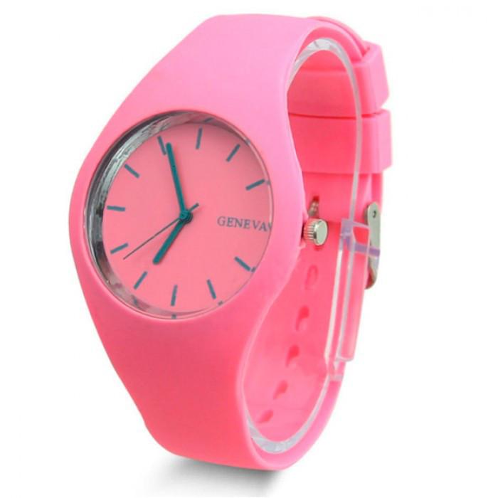 Женские часы Geneva 5078 Pink