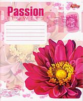 "Тетради 96 л. клетка ""Passion flowers"", фото 1"