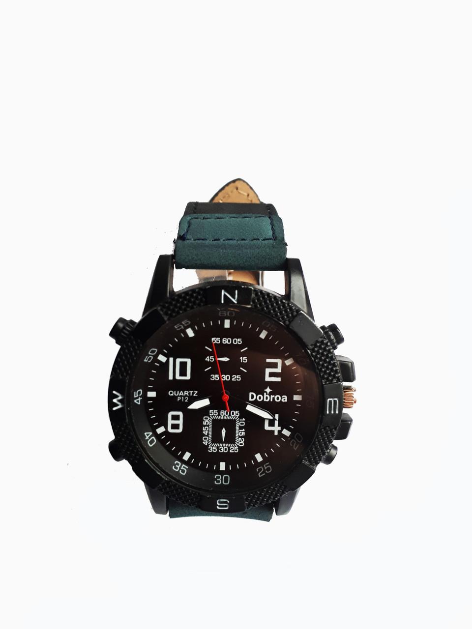 Часы мужские кварцевые Dobroa DB-3500B Синие