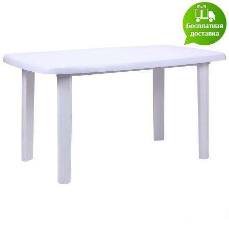 Стол Sorrento 140x80 пластик белый 01