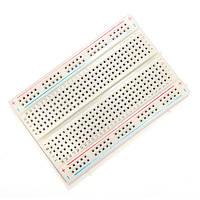 10шт 8,5 х 5,5 см Белый 400 отверстий без пайки Макетная Для Arduino 1TopShop