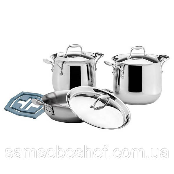 Набор кухонной посуды Vinzer Tulip 7 предметов, 89027