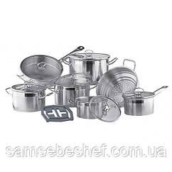 Набор кухонной посуды Vinzer Universum 14 предметов, 89032