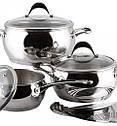 Набор кухонной посуды Vinzer Astro 7 предметов, 89038, фото 2