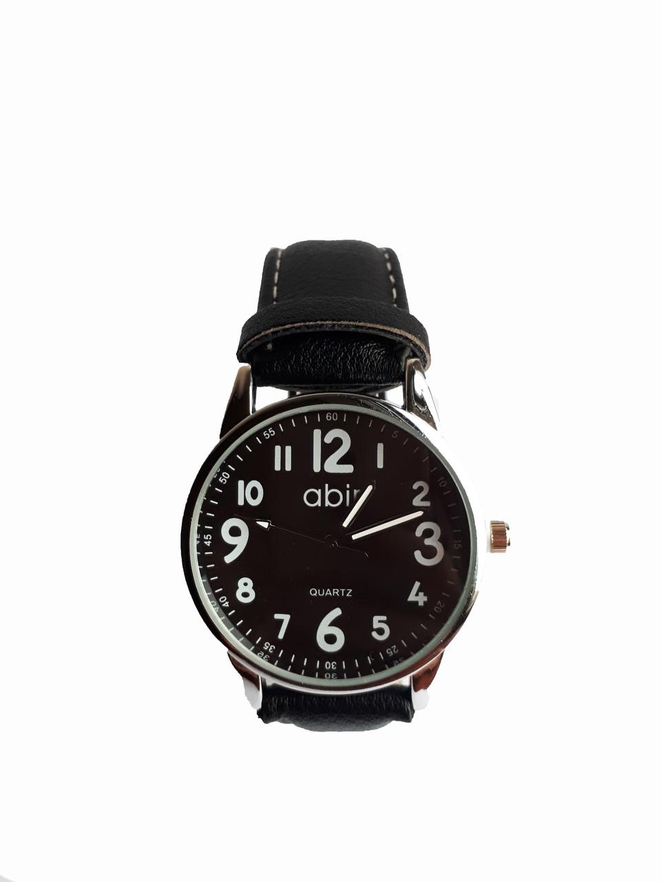 Часы мужские кварцевые Abir Черные (Ab-200)