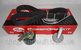 Комплект ремня ГРМ (ремень+ролик) 1,5DCI Duster/Logan/Kangoo/Clio GATES, K025578XS