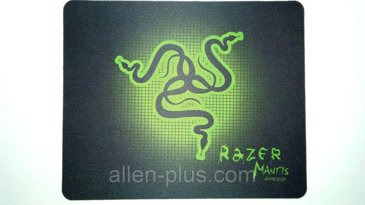 Коврик тканевый прорезиненный Razer Mantis SPEED 220x177x1.5 мм (РЕПЛИКА)