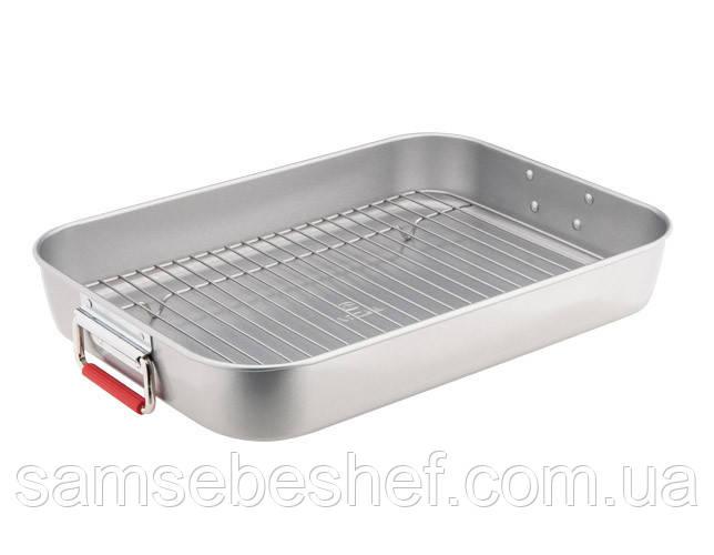 Форма для выпечки с решёткой Vinzer 27*38 см, 89490