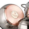 Набор кухонной посуды Vinzer Majestic Optima 9 предметов, 89041, фото 3