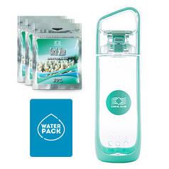 Упаковка для Здоровья №1 (Water Pack) бирюзовая бутылка.