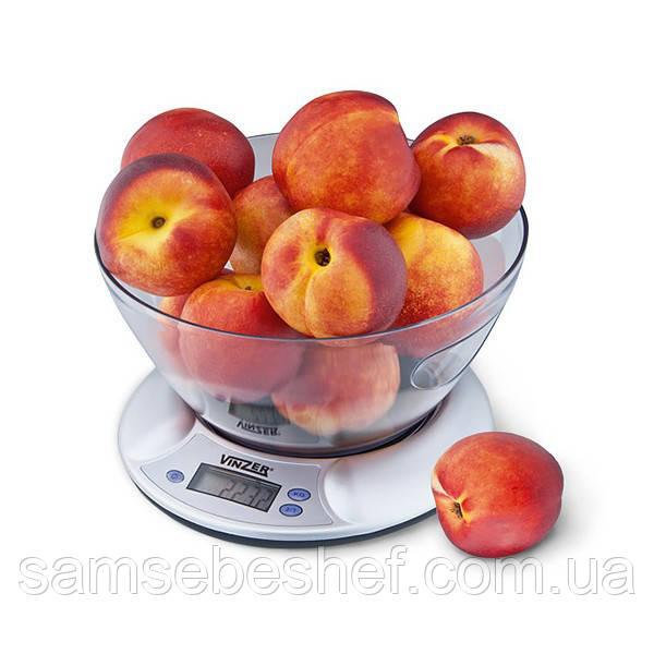 Весы кухонные Vinzer до 5 кг, 89187