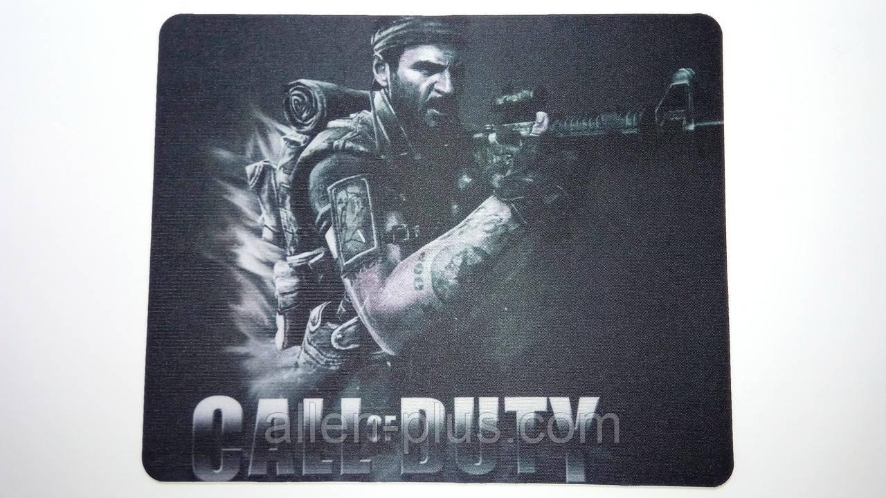 Коврик тканевый прорезиненный Call Of Duty SPEED 220*177*1.5 мм