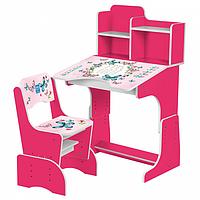 Детская парта Трансформер+стульчик 2071