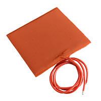 Водонепроницаемая силиконовая гибкая нагревательная панель и электрогрелка 60*60мм постоянного тока 12В 10Вт 1TopShop