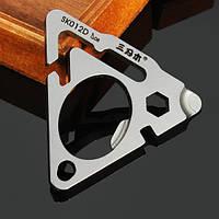 Sanrenmu SK012D Mini Metal Многофункциональная портативная ключевая цепочка ключей Набор