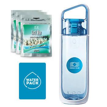 Упаковка для Здоровья №1 (Water Pack) голубая бутылка Коралловый Клуб, фото 2