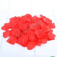 Лепестки роз искусственные 100шт./уп. Красные