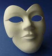 Гипсовая маска Венеция, 14,5*14,5*7,5см