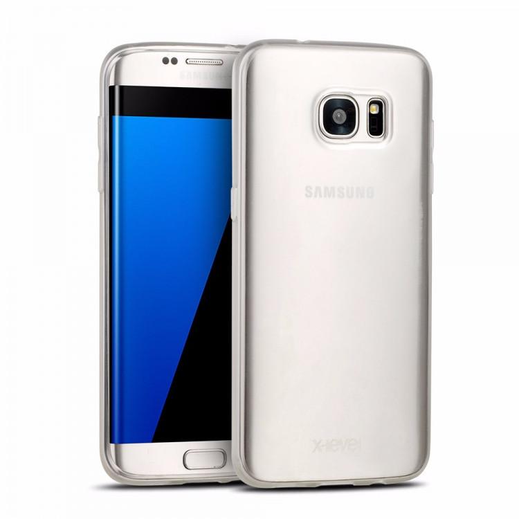 Чехол-накладка для Samsung S7 X-Level TPU ANTI-SLIP Прозрачная (PC-000