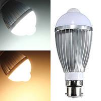 B22 7w 14 SMD 5730 инфракрасный датчик тела индукционные лампы теплый белый / белый 85-265