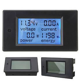 Модуль Монитор 20А постоянного тока цифровой Многофункциональный измеритель мощности энергии Вольтметр Амперметр 6.5V-100V - 1TopShop