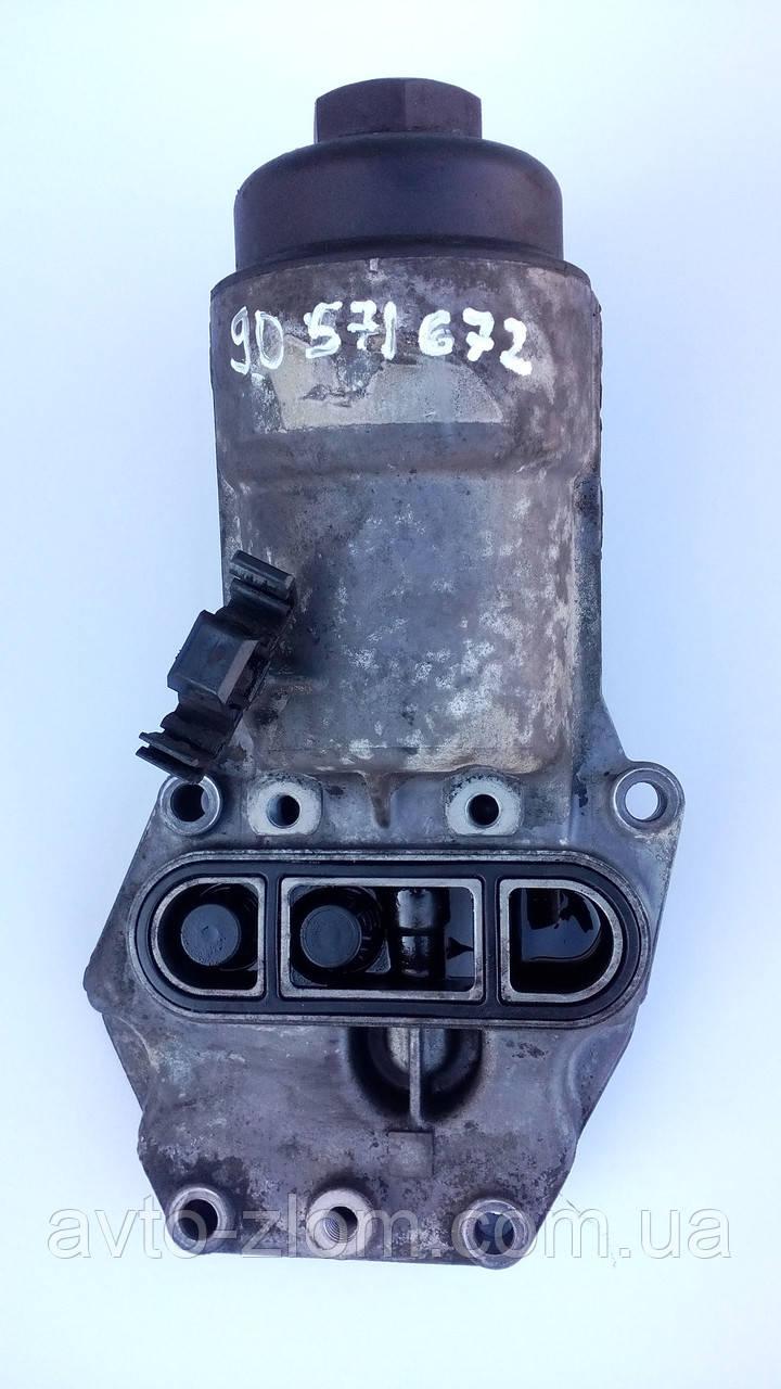 Корпус масляног фильтра Opel Vectra B, Astra G, Zafira 2,0 - 2,2 DI, DTI. 90571672.