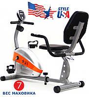 Велотренажер горизонтальный Magnetic USA Style SS-779