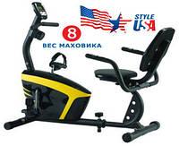 Велотренажер горизонтальный Magnetic USA Style SS-36L