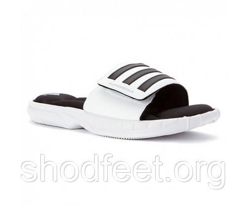 Шльопанці чоловічі Adidas men's Superstar 3G Slide Sandal White Репліка
