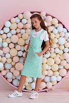 "Летний детский костюм для девочки ""K&L"" с футболкой (4 цвета), фото 2"