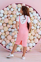 "Летний детский костюм для девочки ""K&L"" с футболкой (4 цвета), фото 3"