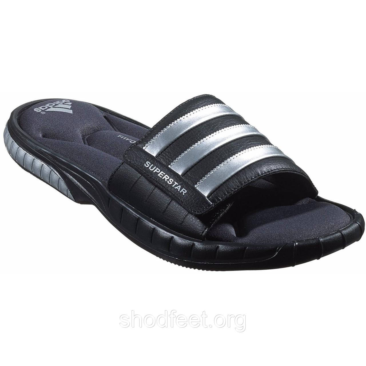 8a50c8ca7174 Мужские шлепанцы Adidas Men s Superstar 3G Slide Sandal Black - ShodFeet в  Харькове