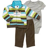 Детский флисовый комплект для мальчика Carter's   9, 12 месяцев
