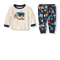 Детская пижама для мальчика  9-12 месяцев
