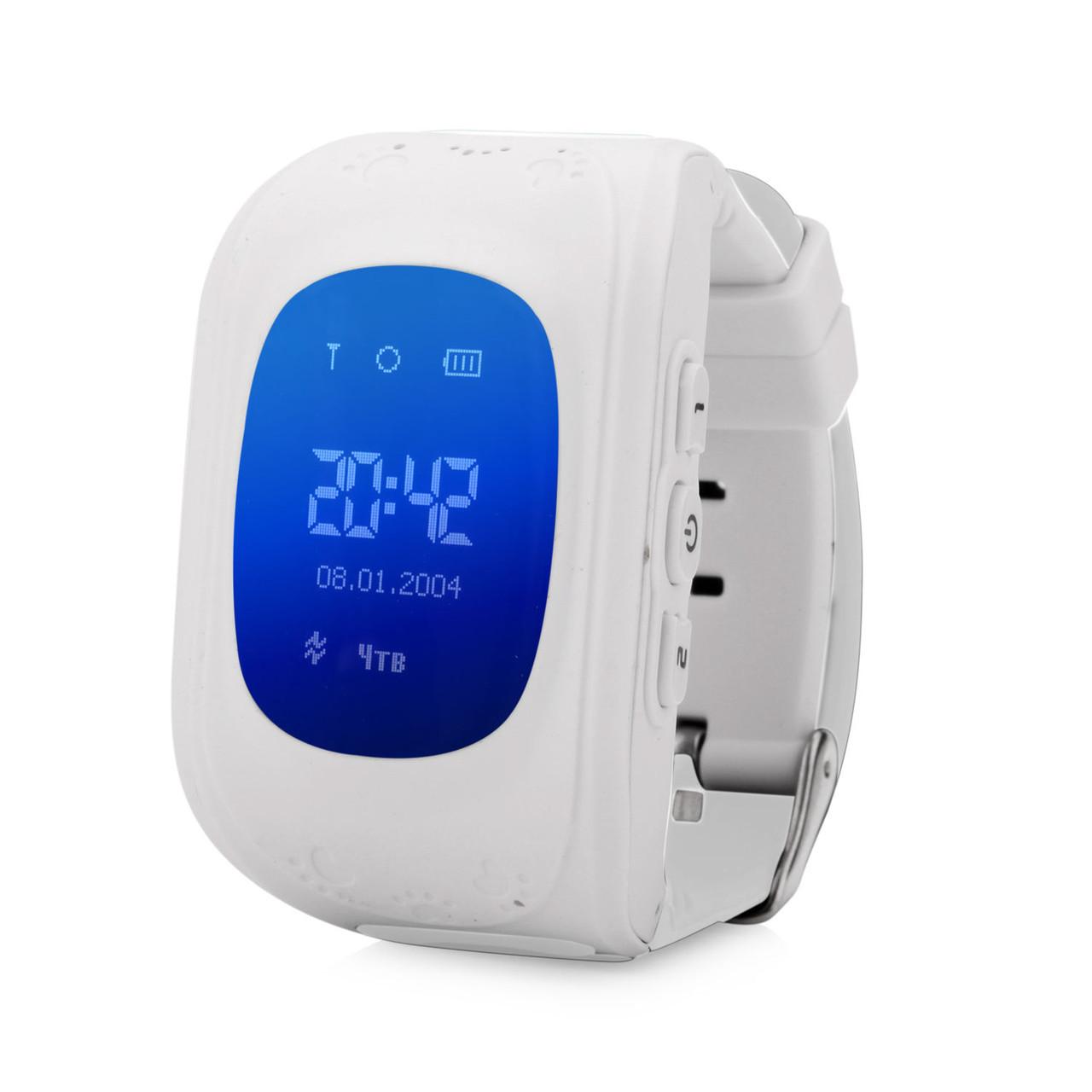 Умные детские часы Baby Smart Watch Q50 Белые (hub_yUYo97444)