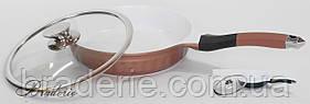 Сковорода Peterhof PH-15417-28 с крышкой
