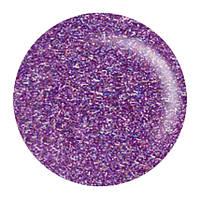 Гель лак Salon Professional № 148 прозрачный с фиолетовыми микроблестками
