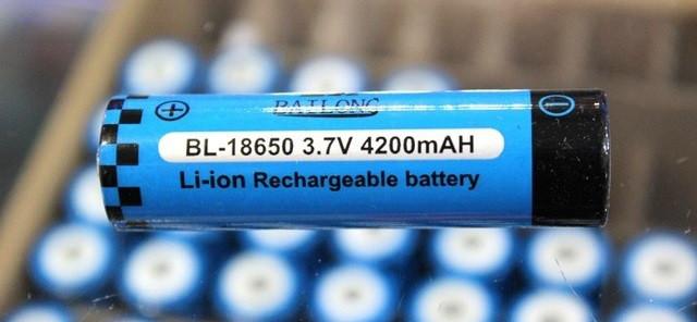 Аккумулятор 18650 3.7V