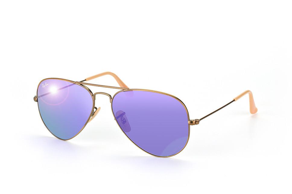 Солнцезащитные очки Ray-Ban Aviator Flash Lenses Фиолетовый (RB3025 16