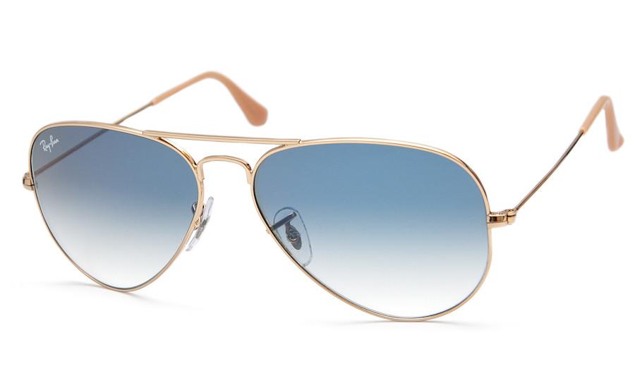 Солнцезащитные очки Ray-Ban Aviator Large Metal Золотистый (RB3025 001