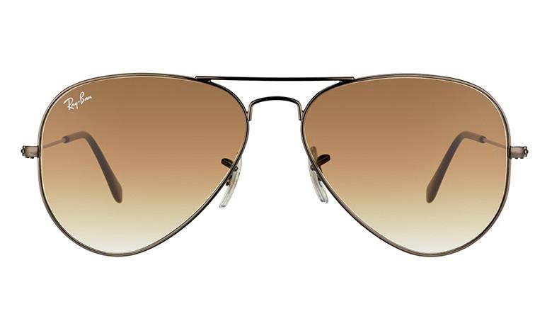Солнцезащитные очки Ray-Ban Aviator Large Metal Коричневый (RB3025 004