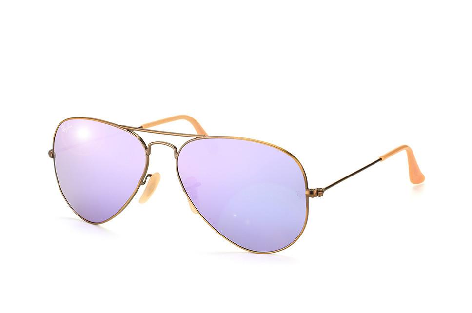 Солнцезащитные очки Ray-Ban Aviator Flash Lenses Сиреневый (RB3025 167