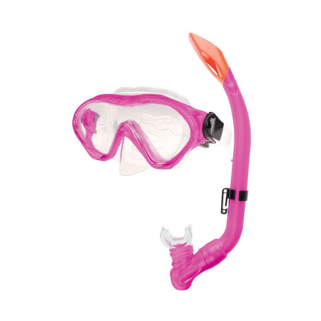 Маска для плавания Spokey Cayman Junior для детей Розовая (s0156)