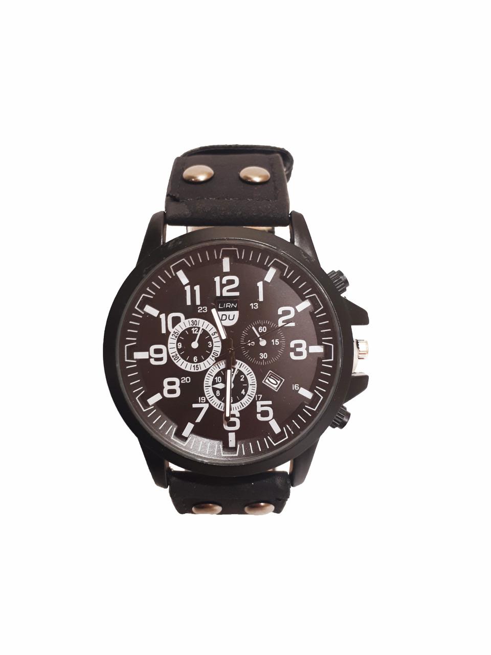 Часы мужские кварцевые DU Черные (DU-030B)