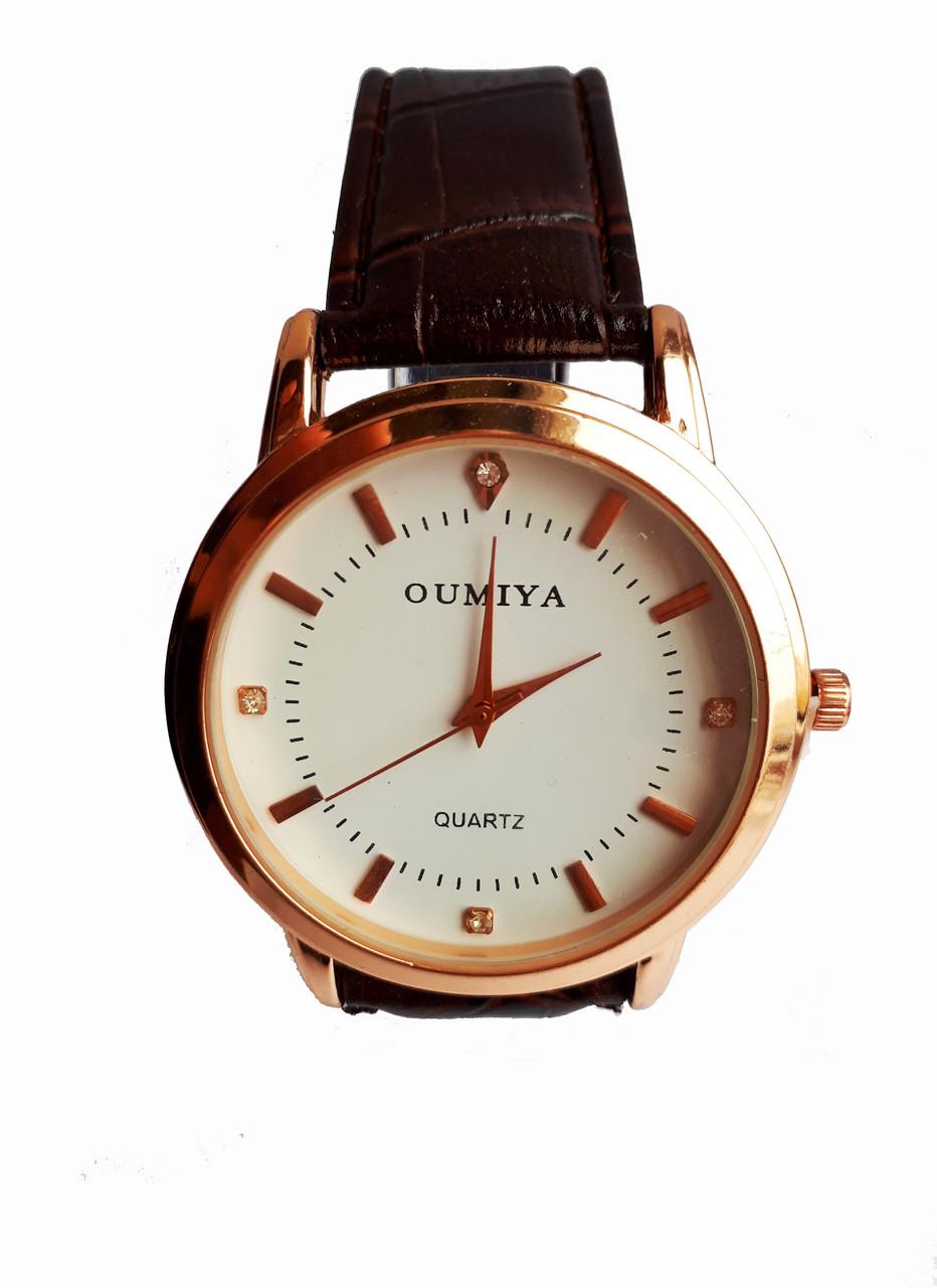 Часы мужские кварцевые Oumiya Золотистые
