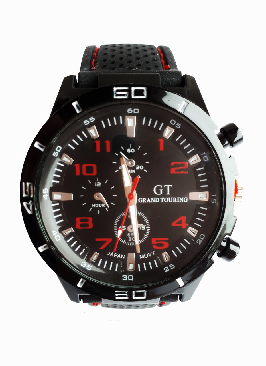Часы мужские кварцевые GТ-200R Черный