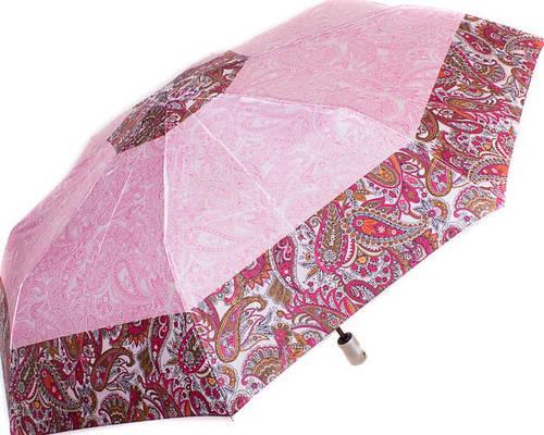Яркий женский зонт, полный автомат DOPPLER (ДОППЛЕР) DOP74665GFGPE-1 Антиветер!