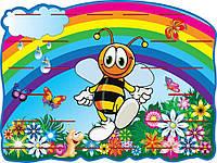 Стенд для розміщення ліплення Бджола