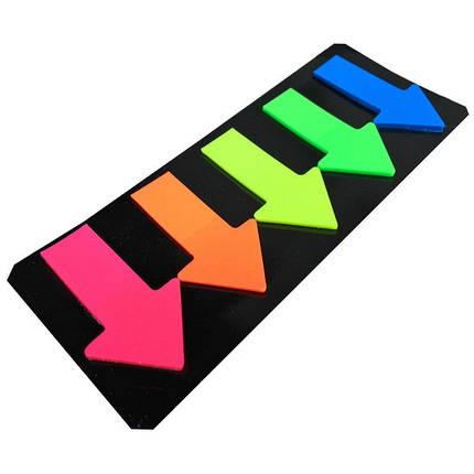 Стикеры самокл. 4026 (5шт 46мм*27мм) стрелки липкие пластиковые цветные/60бл, фото 2